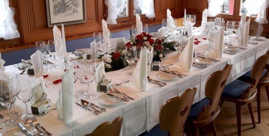 Lindenhof Zuzwil - Hochzeitstafel