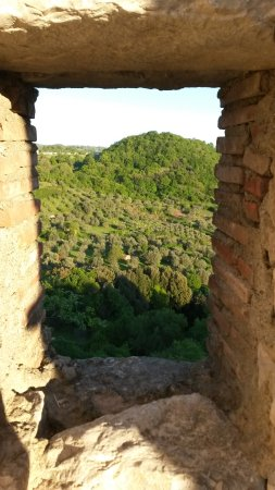 Roccalbegna, İtalya: dal cassero