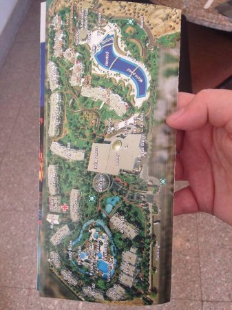 Map of the hotel and rooms Picture of Monte Carlo Sharm Resort
