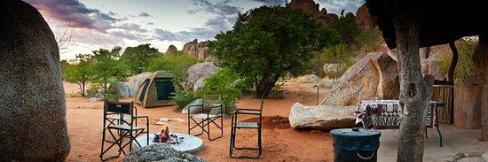 Kamanjab, Namibia: Campsite