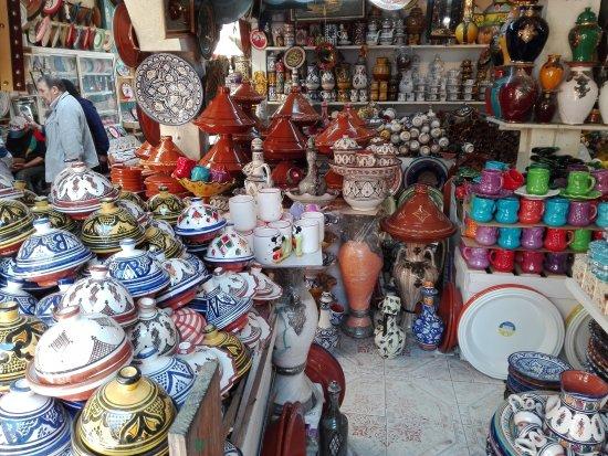 Riad Safi : Ceramiche a Safi