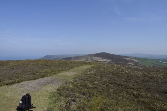 Ocean Backpackers: The south west coastal path on Exmoor. Just a short drive or a longish walk