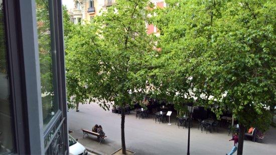 Hotel Murmuri Barcelona: View from room.