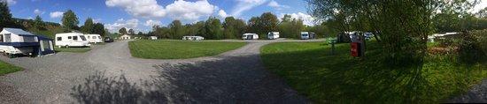 Little Budworth, UK: Shays Farm Caravan Camping Site