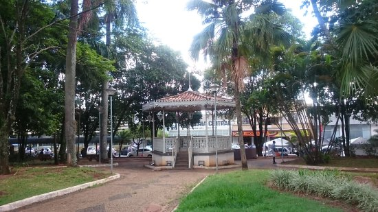 Matao, SP: Praça