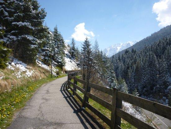 Валь-Гардена, Италия: Tratto in prossimità di Selva di Val Gardena