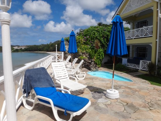 Villa Beach Cottages: Small Auxillary Pool