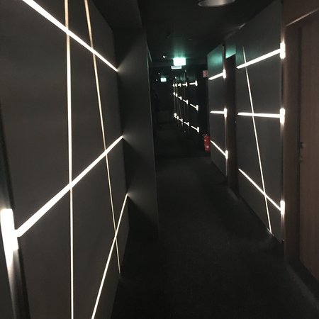 Great Lighting At The Corridors Picture Of Ion City Hotel