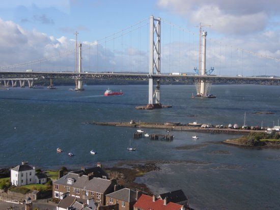 View from the Forth Bridge(railway)