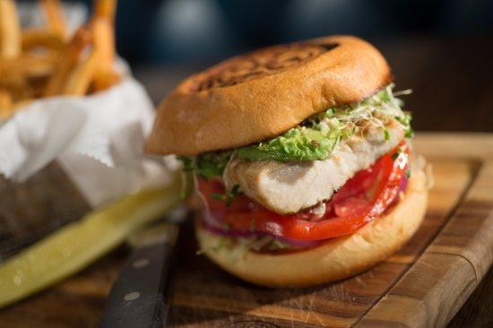 Port Saint Lucie, FL: Mahi Sandwich!