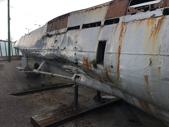 Birkenhead, UK: you can some panels missing, rust and general paint work is needed