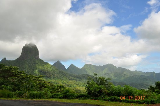 Moorea, Polinesia Francesa: Belvedere!!