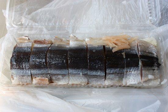 Kihoku-cho, Japan: さんま寿司