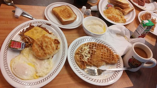 Waffle House: Yummm it was worth every extra bite that i shouldn't of took 😁❤❤❤❤❤👌 best waffles ever so soft