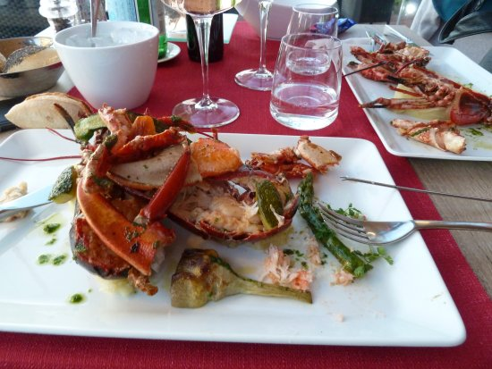 le homard picture of restaurant le neptune collioure tripadvisor. Black Bedroom Furniture Sets. Home Design Ideas