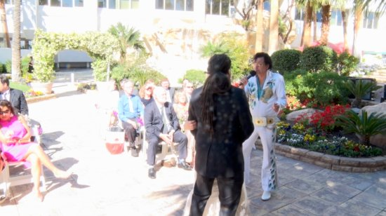 Tropicana LV Weddings: really horrible video & audio