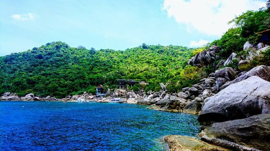 plage de Mango bay