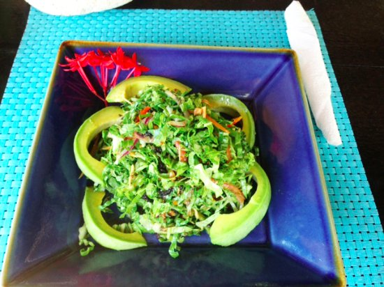 Jackie's on the Reef: AVOCADO SALAD