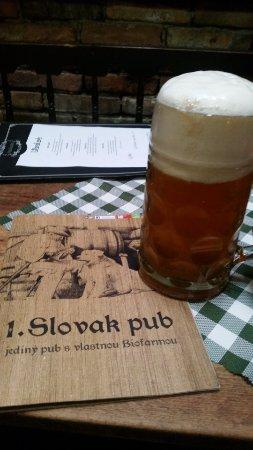Slovak Pub: 1 Litre Home Beer (4 Euro)
