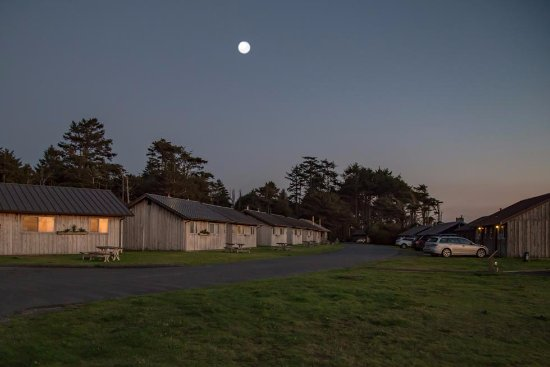 Kalaloch Lodge: View of Cabins