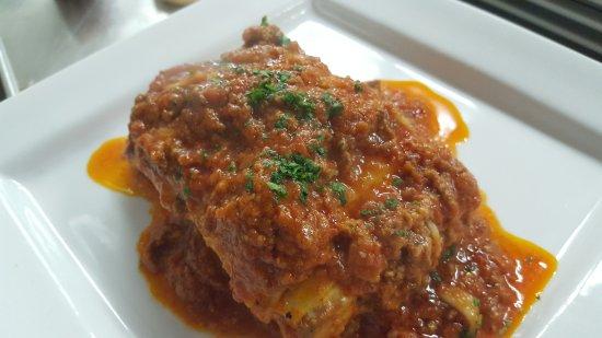 Da Grazia Ristorante: Lasagna with Bolognese Sauce made fresh in our kitchen.