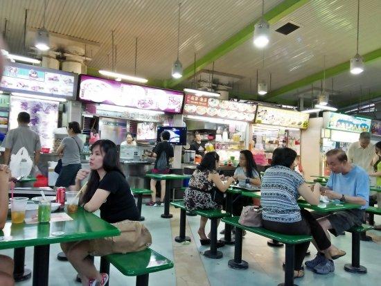 Hawker Center interior - Picture of Zion Road Food Centre ...