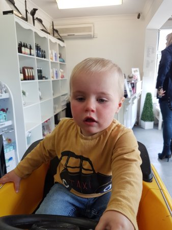 Serenity Loves: Childs first hair cut