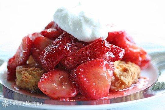 Port Royal, Wirginia: Fresh Strawberry Shortcake