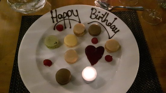 Standish, UK: Birthday surprise after our meal