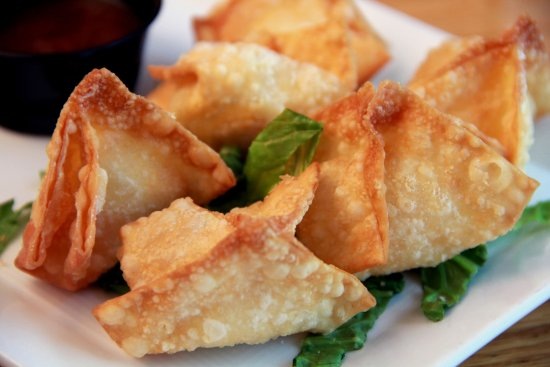 Port Royal, VA: Lpbster Wontons with Plum Sauce