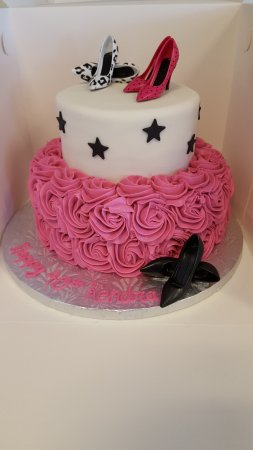 Decadently Yours Diva Cake