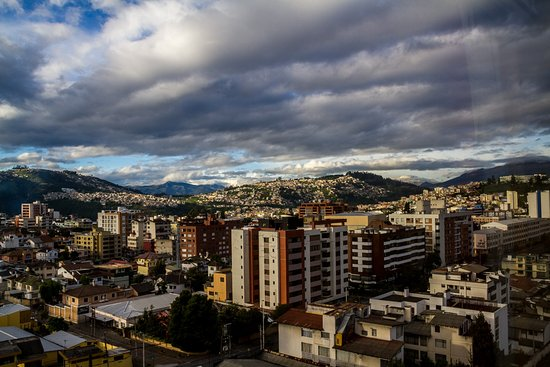 Swissotel Quito: View from room