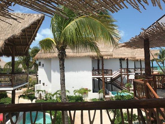 Habitaciones con opci n a alberca picture of villas hm for Villas hm palapas del mar