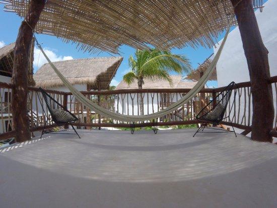 Recepci n picture of villas hm palapas del mar holbox for Villas hm paraiso del mar holbox tripadvisor