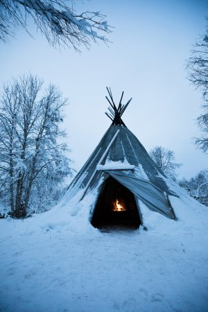 Ivalo, Finland: A great place to take shelter
