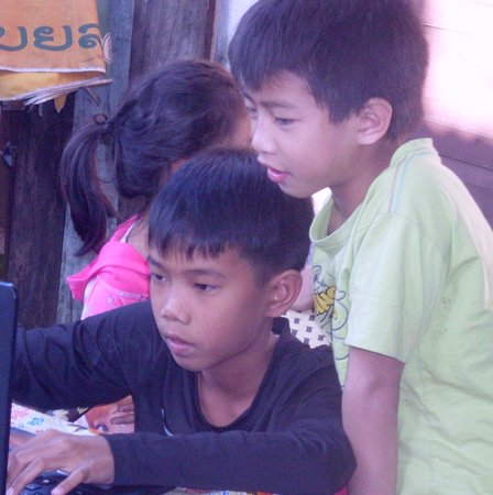 students studying computer lessons - Picture of Champey Academy of