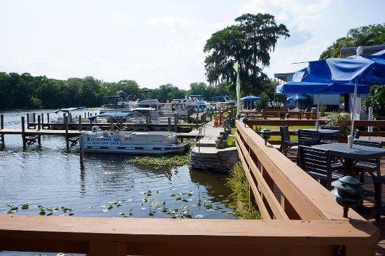 DeLand, FL: Marina dock area.