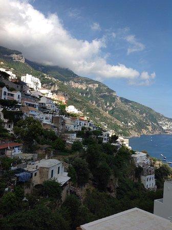 Venus Inn B&B Positano: View from the terrasse