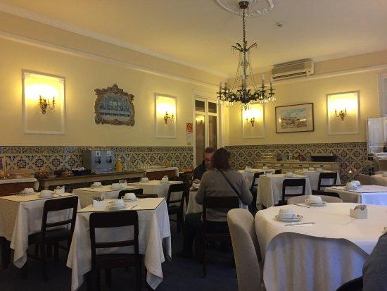 Casa De Sao Mamede: Salle du petit déjeuner