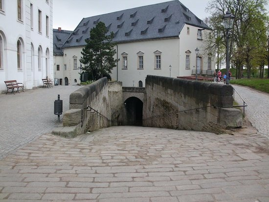 Koenigstein, Jerman: Der einzige Zugang zur Festung
