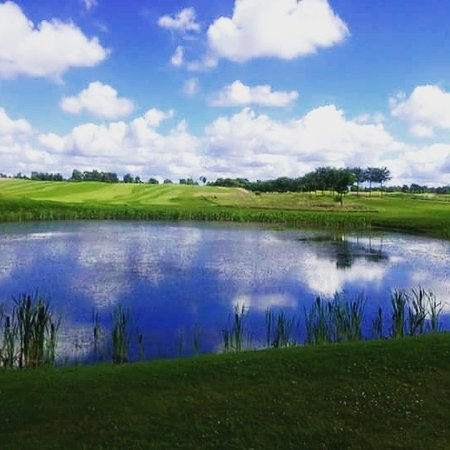 Ljungbyhed, İsveç: Altid god mad med dejlig udsigt til golfbanen