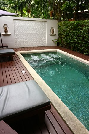 Baan Amphawa Resort & Spa: Private pool