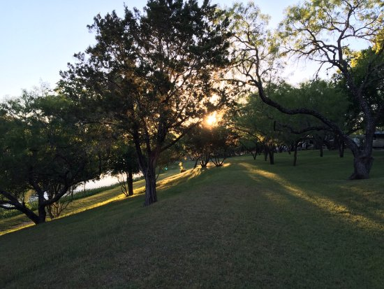 Perfect camping spot when visiting Hill Country