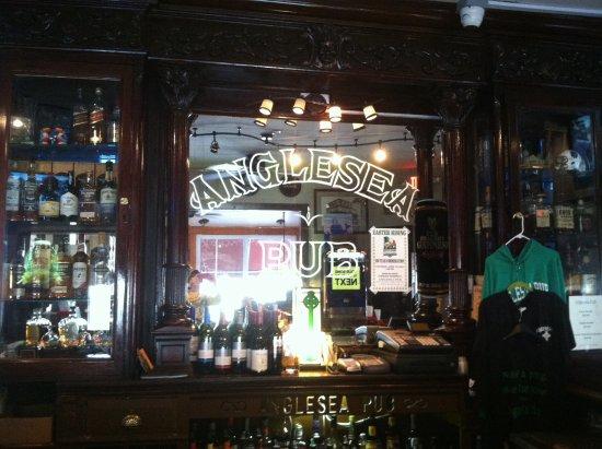 Anglesea Pub: Bar area