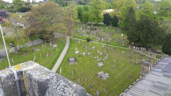 Cranbrook, UK: View from the top of the West Tower