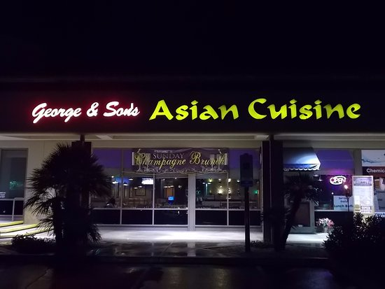 George and sons asian cuisine