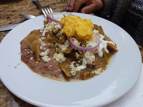 Posada Carmina Hotel: Chilaquiles