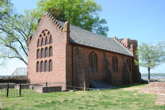 Historic Jamestowne: the old church that you can tour