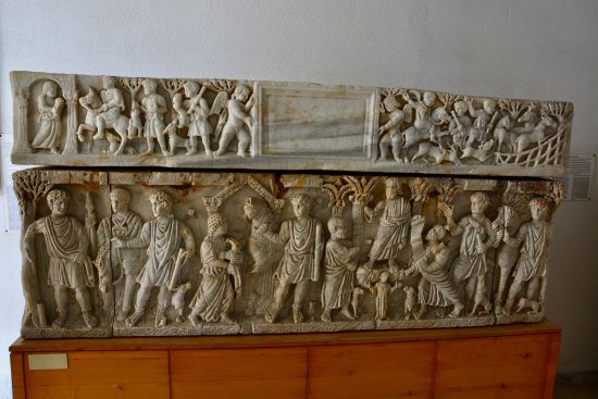 Gouvernement Monastir, Tunesien: Sarcophage chrétien