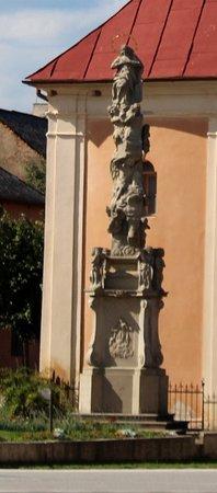 Stitnik, Słowacja: La colonna